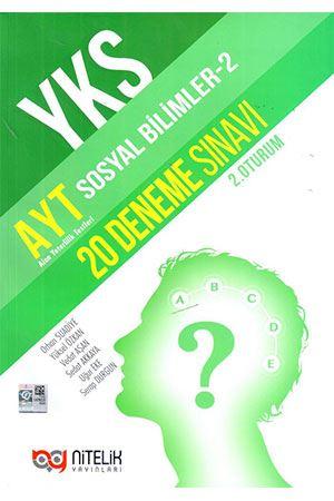 Nitelik AYT Sosyal Bilimler 2 20 Deneme Sınavı