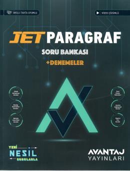 Avantaj Yayınları TYT AYT Jet Paragraf Avantaj Soru Bankası + Denemeler