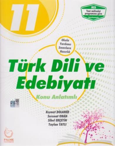 Palme 11. Sınıf Türk Dili ve Edebiyatı Konu Anlatımlı %35 indirimli