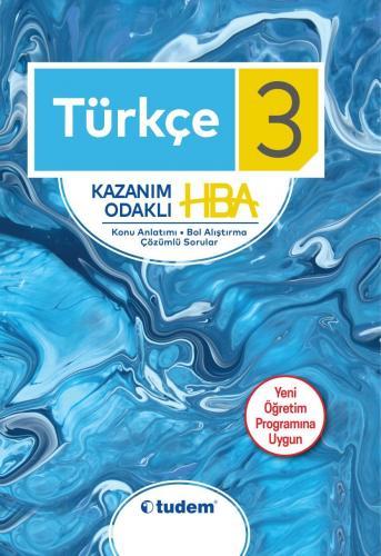 Tudem 3. Sınıf Türkçe Kazanım Odaklı HBA