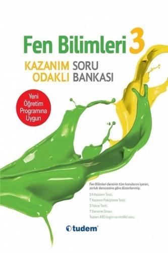Tudem Yayınları 3.Sınıf Fen Bilimleri  Kazanım Odaklı Soru Bankası