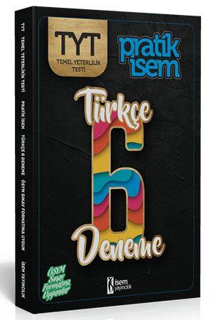 İsem Yayınları TYT Türkçe Pratik İsem 6 lı Deneme Komisyon
