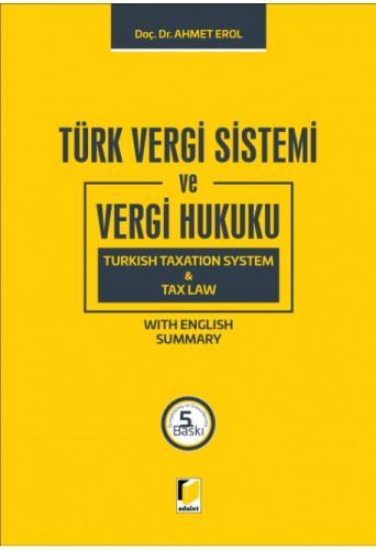 Adalet Türk Vergi Sistemi ve Vergi Hukuku