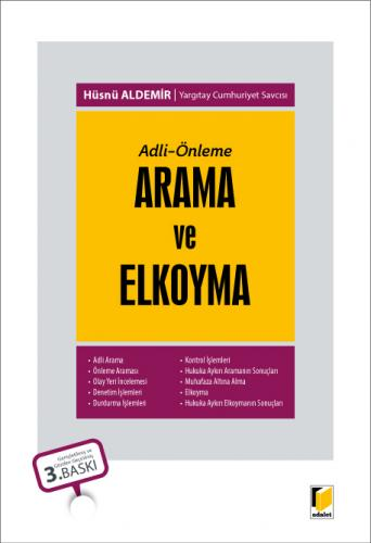 Adalet Arama ve Elkoyma