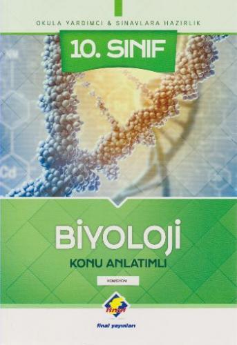 Final 10. Sınıf Biyoloji Konu Anlatımlı
