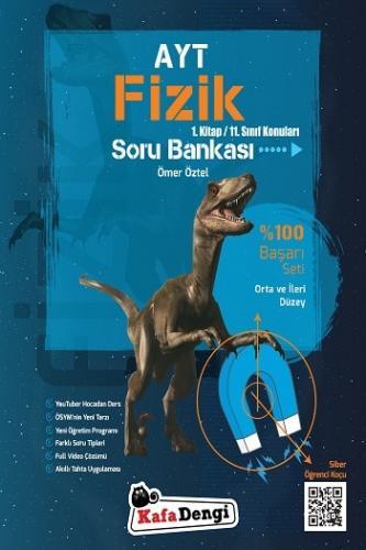 KafaDengi Yayınları AYT Fizik Orta ve İleri Düzey Soru Bankası 1. Kitap