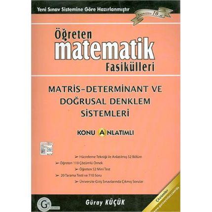Gür Öğreten Matematik Fasikülleri Matris Determinant