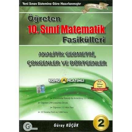 Gür Yayınları 10. Sınıf Matematik Analitik Geometri Konu Anlatımlı