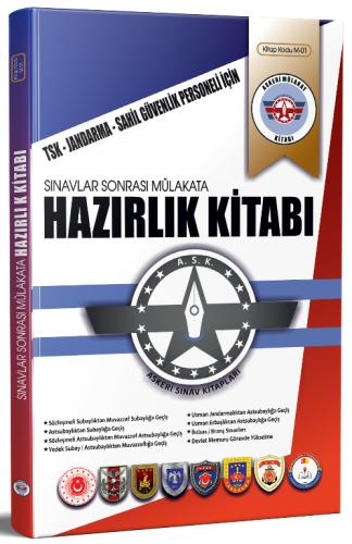 Dizgi Kitap Jandarma, Sahil Güvenlik Komutanlığı Mülakat Hazırlık Kita