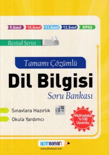 Altınbaşarı Dil Bilgisi Tamamı Çözümlü Soru Bankası %35 indirimli