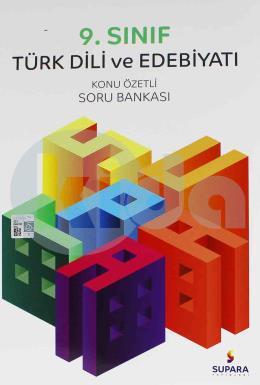 Supara Yayınları 9. Sınıf Türk Dili ve Edebiyatı Konu Özetli Soru Bankası