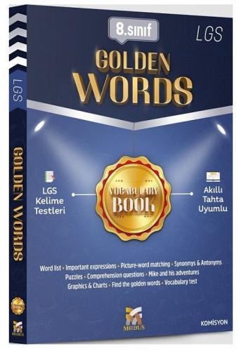 Modus Yayınları 8. Sınıf LGS İngilizce Golden Words İngilizce Kelimele