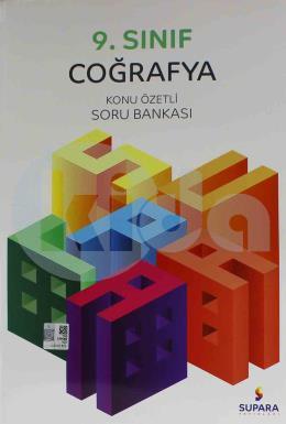Supara Yayınları 9. Sınıf Coğrafya Konu Özetli Soru Bankası