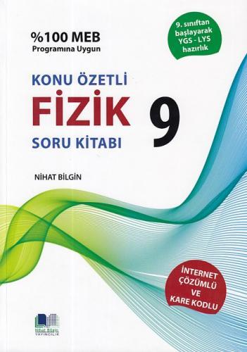 Nihat Bilgin 9. Sınıf Fizik Soru Kitabı