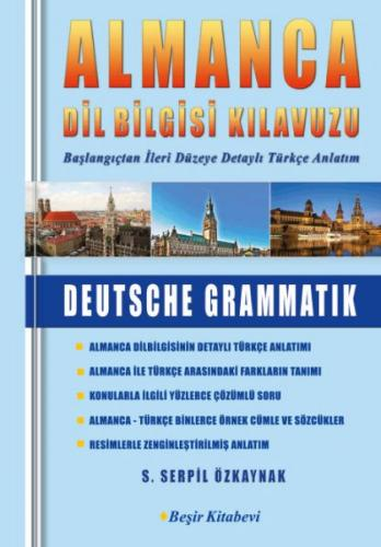 Almanca Dilbilgisi Kılavuzu %40 indirimli S.Serpil Özkaynak