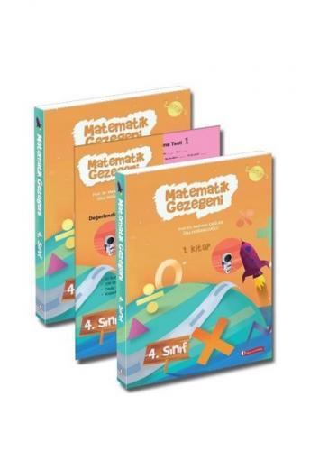 Matematik Gezegeni 4. Sınıf (3 kitap takım)