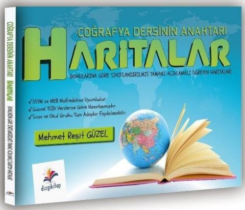 Dizgi Kitap Coğrafya Dersinin Anahtarı Haritalar Mehmet Reşit Güzel