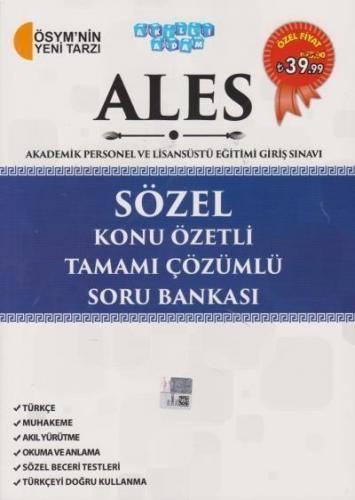 Akıllı Adam ALES Sözel Konu Özetli Tamamı Çözümlü Soru Bankası Komisyo