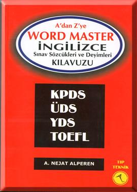 A 'dan Z 'ye Word Master İngilizce