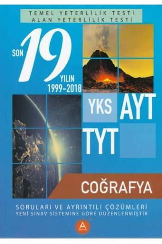 A Yayınları TYT AYT Coğrafya Son 19 Yılın Çıkmış Soruları ve Ayrıntılı Çözümleri