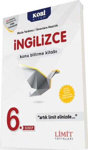 Limit 6. Sınıf İngilizce Konu Bitirme Kitabı