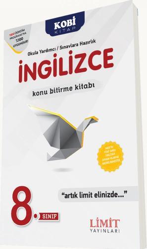 Limit 8. Sınıf İngilizce Konu Bitirme Kitabı
