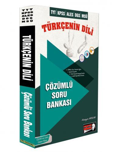 Tasarı Akademi DGS ALES TYT Türkçenin Dili Çözümlü Soru Bankası 2019