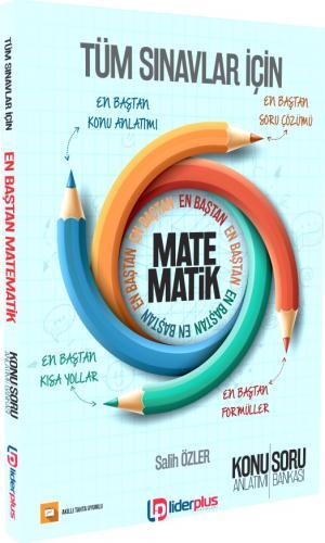Lider Plus Tüm Sınavlar İçin Matematik Konu Anlatımı ve Soru Bankası