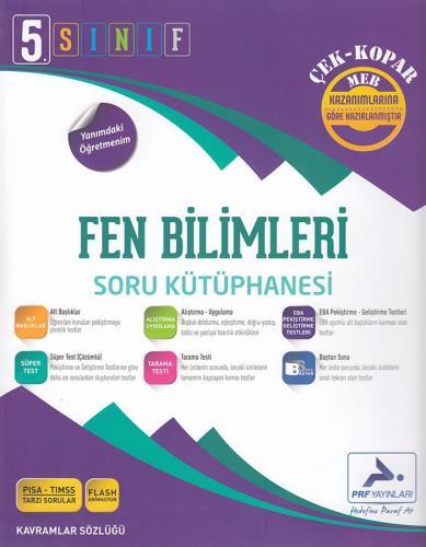 PRF 5. Sınıf Fen Bilimleri Soru Kütüphanesi Çek Kopar