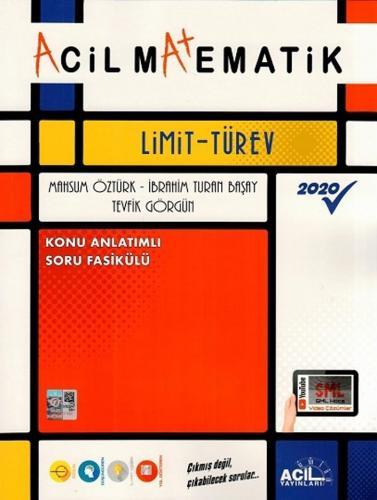 Acil Yayınları Acil Matematik Limit Türev