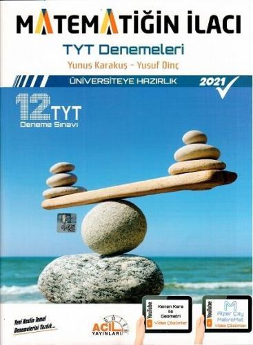 Acil Yayınları TYT Matematiğin İlacı Denemeleri Komisyon