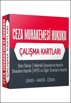 Adalet Ceza Muhakemesi Hukuku Çalışma Kartları - Hakan Hakeri, Halid Özkan, Yener Ünver