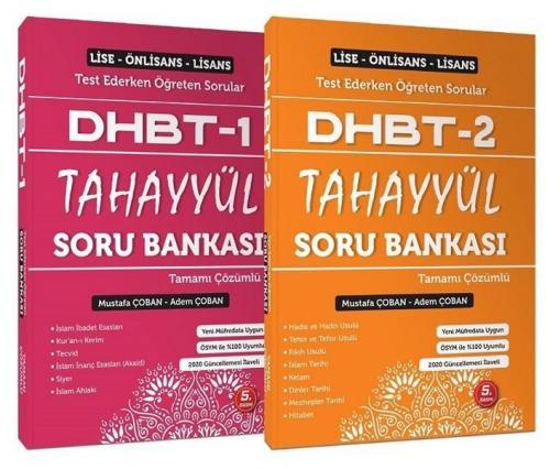 Adem Çoban Mustafa Çoban DHBT 1 2 TAHAYYÜL Soru Bankası Çözümlü Set