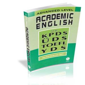Advanced Level Academic English For KPDS ÜDS TOEFL YDS %45 indirimli K