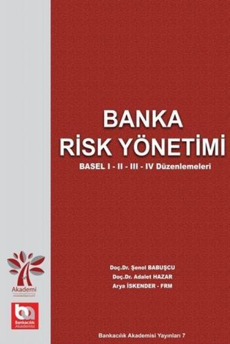 Banka Risk Yönetimi %35 indirimli Adalet Hazar