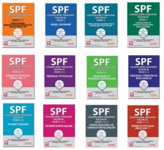 Akademi SPF Lisanslama Sınavlarına Hazırlık Düzey 3 (12 kitap)