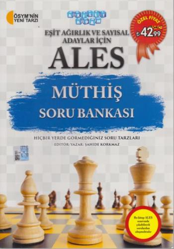 Akıllı Adam ALES Müthiş Soru Bankası Eşit Ağırlık ve Sayısal Adaylar İçin