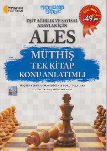 Akıllı Adam ALES Müthiş Tek Kitap Konu Anlatımlı Eşit Ağırlık ve Sayısal Adaylar İçin