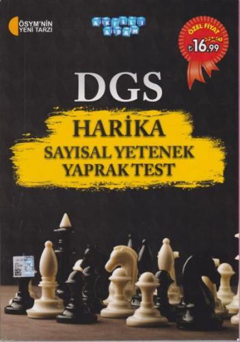 Akıllı Adam DGS Harika Sayısal Yetenek Yaprak Test