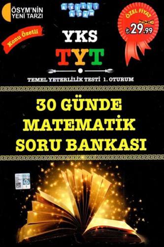 Akıllı Adam YKS 1. Oturum TYT 30 Günde Matematik Soru Bankası