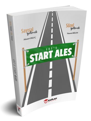 Kaplan Akademi 2021 Start ALES Özel Tekrar Kitabı Komisyon