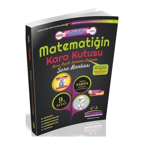 İnformal ALES Matematiğin Kara Kutusu 9. Kitap Konu Özetli Tamamı Çözü