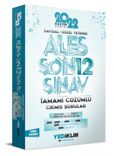 Yediiklim Yayınları 2022 Ales Tamamı Çözümlü Son 12 Sınav Çıkmış Sorul