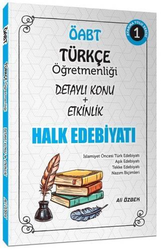 Ali Özbek 2021 ÖABT Türkçe Halk Edebiyatı Konu Anlatımlı Ali Özbek