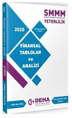 Deha Yayınları 2020 SMMM Yeterlilik Finansal Tablolar ve Analizi Konu Anlatımlı