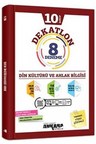 Ankara Yayıncılık 10. Sınıf Din Kültürü ve Ahlak Bilgisi Dekatlon Vi