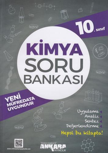 10. Sınıf Kimya Soru Bankası - Ankara Yayıncılık