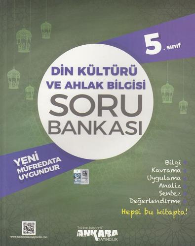 5. Sınıf Din Kültürü ve Ahlak Bilgisi Soru Bankası - Ankara Yayıncılık