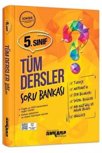 Ankara Yayıncılık 5. Sınıf Tüm Dersler Soru Bankası Komisyon