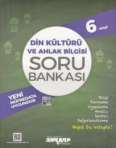6. Sınıf Din Kültürü ve Ahlak Bilgisi Soru Bankası - Ankara Yayıncılık